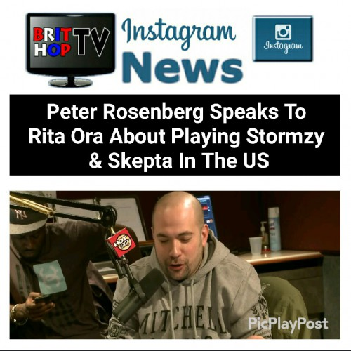 BRITHOPTV: [News] Peter Rosenberg speaks To Rirta Ora about playing Stormzy (@Stormzy1) & Skepta (@Skepta) in th US#Music #MusicNews