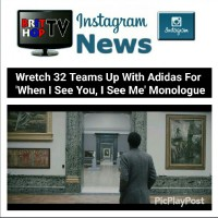 BRITHOPTV: [News] Wretch 32 Teams Up With Adidas For 'When I See You, I See Me' Monologue   #Music #MusicNews