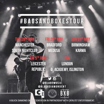 BRITHOPTV: [Event] Blade Brown (@BladeMusic) Bags And Boxes Tour Dates Announced | #UKRap #UKHipHopGrime