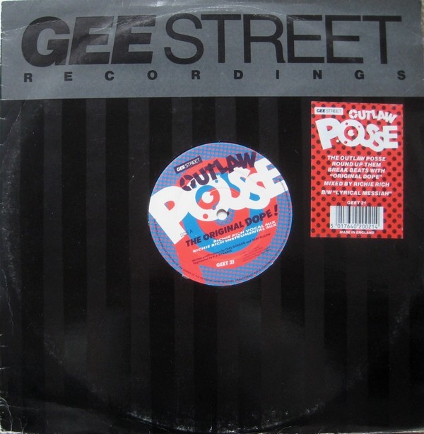 BRITHOPTV: [Old Skool Track Of The Day] Outlaw Posse - 'Original Dope!' [1989] | #UKRap #UKHipHop