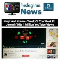 BRITHOPTV: [News] Krept (@KreptPlayDirty) & Konan (@KonanPlayDirty) – 'Freak Of The Week Ft. Jeremih (@Jeremih)' Hits 1 Million YouTube Views  #Music #MusicNews