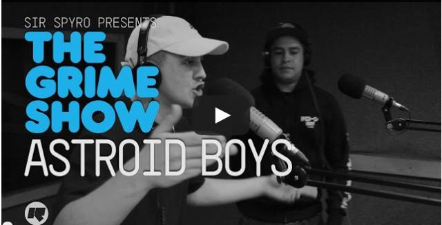 BRITHOPTV- [Video Set] Astroids Boys (@AstroidsBoys) on Sir Spyro (@SirSpyro) #GrimeShow [@RinseFM] I #Grime