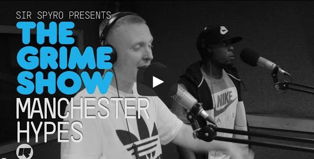 BRITHOPTV- [Video Set] Manchester Hypes (@ManchesterHypes), XP (@xpsays) AK (@AKmoneyslave) Deeleto on @SirSpyro #GrimeShow [@RinseFM] I #Grime