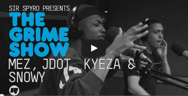 BRITHOPTV- [Video Set] Mez (@UncleMez), J Dot (@Jdotnotts) Snowy (@SNOW667) and Kyeza (@Kyeza_)' on Sir Spyro (@SirSpyro) #GrimeShow [@RinseFM]