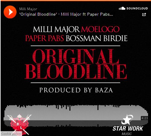 BRITHOPTV: [New Music] Milli Major (@MajorB2DAL) - 'Original Bloodline Ft. Paper Pabz (@Pabbywabby), Bossman Birdie (@BossmanBirdie),  & Moleogo (@Moleogo)' [@DJCameo Rip] | #Grime