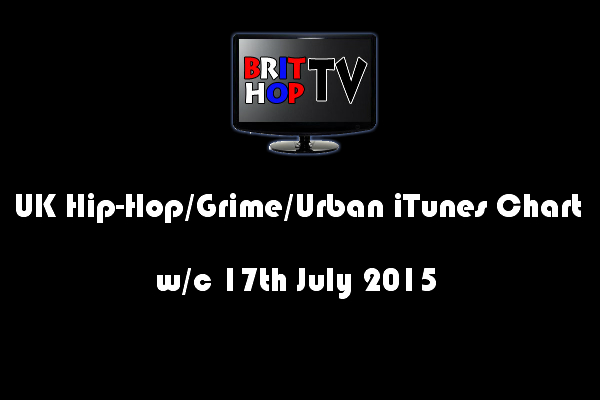 [Chart] UK Hip-Hop/Grime /Urban iTunes Album Chart W/C 17th July 2015