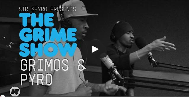 BRITHOPTV- [Video Set] Grimos (@Grimos ) & Pyro (@PyroOfficial) on @SirSpyro #GrimeShow [@RinseFM] I #Grime