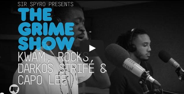 BRITHOPTV- [Video Set] Kwam (@WhoIsKwam), Rocks (@RocksFOE), Darkos Strife (@Darkos_Strife) & Capo Lee (@CapoLee100) on @SirSpyro #GrimeShow [@RinseFM]