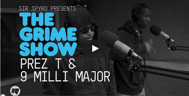 BRITHOPTV- [Video Set] Prez T (@Prez_T), & Milli Major (@majorb2dal) on @SirSpyro #GrimeShow [@RinseFM] I #Grime