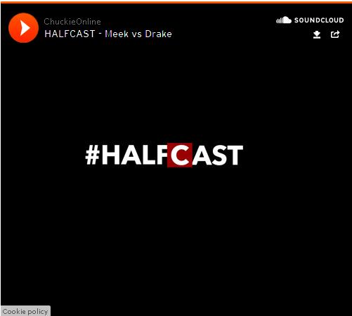 BRITHOPTV: [Podcast] Chuckie (@ChuckieOnline)  & Poet (@PoetCornersUK) - #HALFCAST -  Meek Vs Drake | #HipHop #Podcast