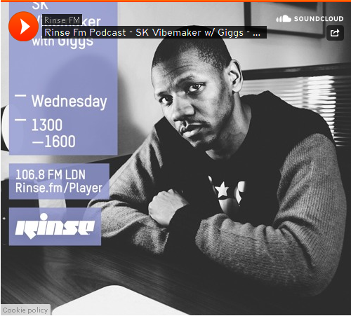 BRITHOPTV: [Podcast] SK Vibemaker (@SKVibemaker) Interview with Giggs (@OfficialGiggs) [@RinseFM]| #HipHop #Grime #RNB#Podcast