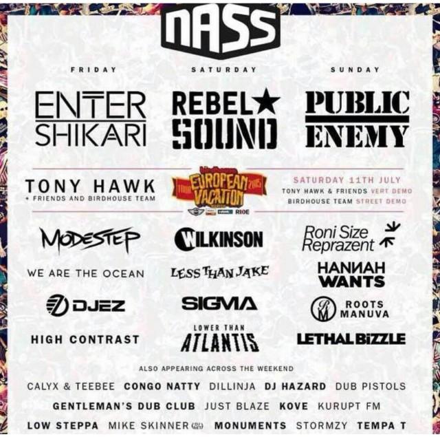 BRITHOPTV: [Event] Nass Festival 2015 (@Nass Festival) Roots Manuva (@Rootsmanuva)  & Lethal Bizzle (@Lethal Bizzle): 10th - 12th July 2015 , Royal Bath & West Showground,  Shepton Mallet, Somerset, BA4 6QN, UK | #Grime  #UKHipHop