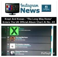 BRITHOPTV: [News] Krept (@KreptPlayDirty) & Konan (@KonanPlayDirty) – 'The Long Way Home' Enters The Official UK Albums Chart At No. #2 | #Music #MusicNews