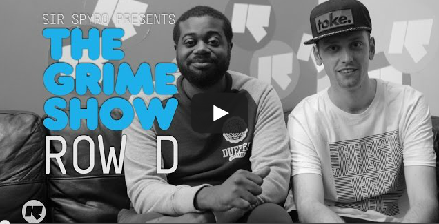 BRITHOPTV- [Video Set] Row D (@Row_D_N3) on @SirSpyro #GrimeShow [@RinseFM] I #Grime