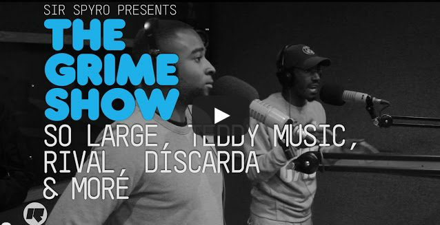 BRITHOPTV- [Video Set] So Large (@SoLarge_E300), Teddy Music (@TeddyMusicUK), Rival (@JusRival), Discarda (@Discarda) & More on @SirSpyro #GrimeShow
