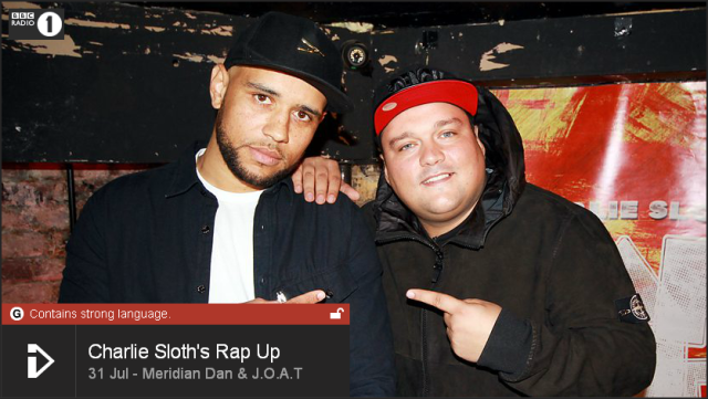 BRITHOPTV: [Web Show] Charlie Sloth's (@CharlieSloth) Rap UP  | @Meridian_Dan  @Joat_production| [@BBCR1] | #HipHop #Rap #Grime