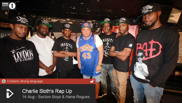 BRITHOPTV: [Web Show] Charlie Sloth's (@CharlieSloth) Rap UP [S1: E24] | @SectionBoyz_Bonkaz & @NanaRogues [@BBCR1] | #HipHop #Rap #Grime