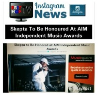 BRITHOPTV: [News] Skepta To Be Honoured At AIM Independent Music Awards  | #Grime #MusicNewsusic #MusicNews