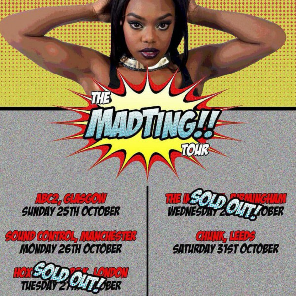 BRITHOPTV: [Event] Lady Leshurr (@LadyLeshurr) Mad Ting Tour October 2015 | #Grime #UKRap