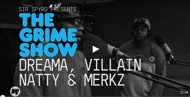 BRITHOPTV- [Video Set] Dreama (@UncleDreama), Villain (@Villz_Invasion), Natty (@Natty1Official) & Merkz (@MarcusMerkz_) on @SirSpyro #GrimeShow