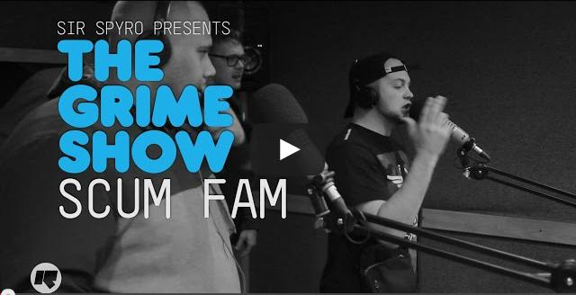 BRITHOPTV- [Video Set] Scumfam (@KDotScumfam @KannanScumfam @AKNFS @milksmusic @KingTezScumFam ) on @SirSpyro #GrimeShow [@RinseFM] I #Grime