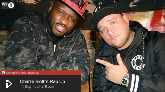 BRITHOPTV: [Web Show] Charlie Sloth's (@CharlieSloth) Rap UP [S1: E28]   @LethalBizzle @IamShakka & @AcekeyzUK) [@BBCR1]   #HipHop #Rap #Grime