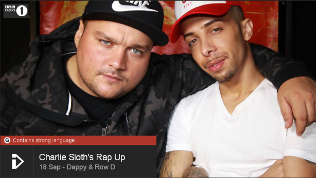 BRITHOPTV: [Web Show] Charlie Sloth's (@CharlieSloth) Rap UP [S1: E29] 18 September | @TheDappy @Row_D_N3  & @FazeMiyake [@BBCR1] | #HipHop #Rap #Grime