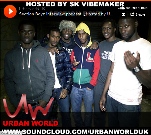 BRITHOPTV: [Podcast] SK Vibemaker (@SKVibemaker) Interview with Section Boyz (@SectionBoyz_) [@UrbanWorldUK] | #HipHop #Grime #RNB#Podcast