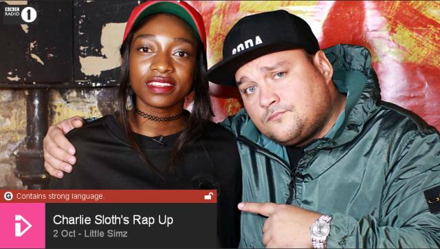 BRITHOPTV: [Web Show] Charlie Sloth's (@CharlieSloth) Rap UP [S1: E31] 2nd October 2015 | Little Simz (@LittleSimz ) Nav Michael (@NavMichael_)[@BBCR1] | #HipHop #Rap #Grime
