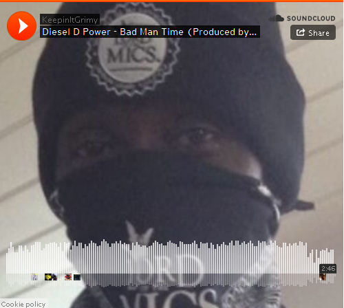 BRITHOPTV: [New Music] Diesel D Power (@officialdpower) - 'Bad Man Time' (Prod. @Shredda) | #Grime