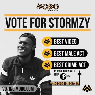 Stormzy Mobo Nominations