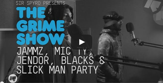 BRITHOPTV- [Video Set] Jammz (@Jammz) Mic Ty (@MicTyMC), Jendor (@HollowmanJendor) , Blacks (@KingBlacks) Slick Man Party (@SlickManParty) on Sir Spyro'