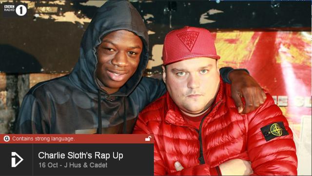 BRITHOPTV: [Web Show] Charlie Sloth's (@CharlieSloth) Rap UP [S1: E33] 16th October 2015 | J Hus (@JHusMusic ) Cadet (@Cadet ) Adot Skitz (@Adot Skitz ) [@BBCR1]| #HipHop #Rap #Grime