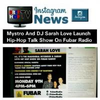 BRITHOPTV: [News] Mystro (@Mysdiggi) & DJ Sarah (@DJSaraLove) Love Launch Hip-Hop talk Show On Fubar Radio (@Fubarradio) | #UKHipHop #Music #MusicNews