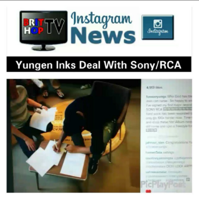 BRITHOPTV: [News] Yungen (@yungenPlaydirty) Inks Deal with Sony/RCA | #Music #MusicNews