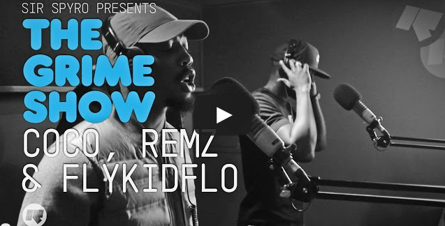 BRITHOPTV- [Video Set] Coco (@TheCocoUK), Remz (@REMZM3 ) & Flykidflo (@Flykidflo) on Sir Spyro's (@SirSpyro) The #GrimeShow [@RinseFM] #Sheffield