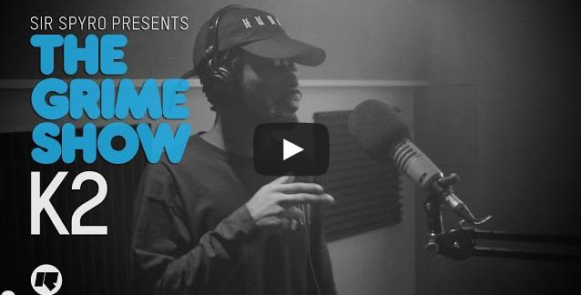 BRITHOPTV- [Video Set] K2 on Sir Spyro's (@SirSpyro) The #GrimeShow [@RinseFM] I #Grime