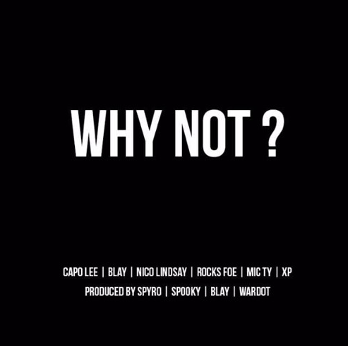 BRITHOPTV: [New Release] Capo Lee (@CapoLee100) - 'Why Not' Mixtape OUT NOW! [Rel. 05/01/16] | #Grime