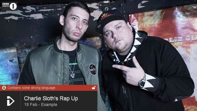 BRITHOPTV: [Web Show] Charlie Sloth's (@CharlieSloth) Rap UP [S1: E51] 19th February 2016 | Example (@Example) & Swiss (@SwissWorld) [@BBCR1] | #HipHop #Rap #Grime