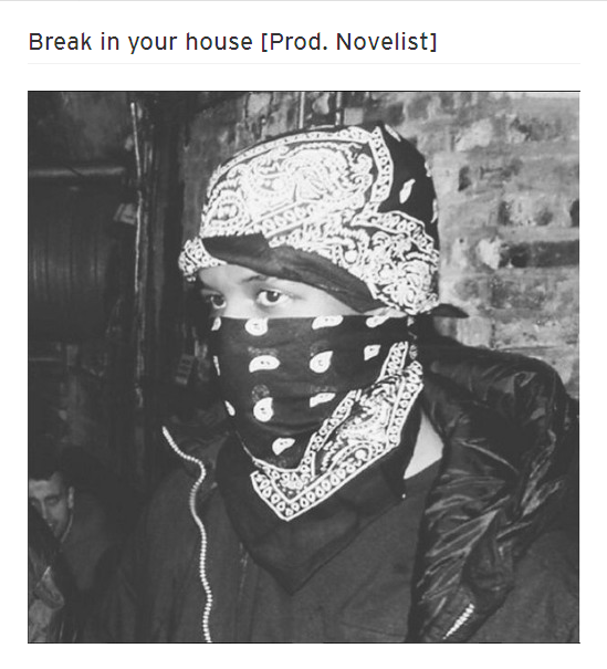 BRITHOPTV: [New Music] Novelist (@Novelist) - 'Break In Your House' | #Grime