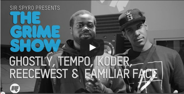 BRITHOPTV: [Video Set] Ghostly (@OfficialyGhostly), Tempo (@TempoArtist), Koder (@OfficialKoder), Reece West (@MrReeceWest) and Familar Face (@FamilarFace) on Sir Spyro's (@SirSpyro) The #GrimeShow [@RinseFM] | #Grime