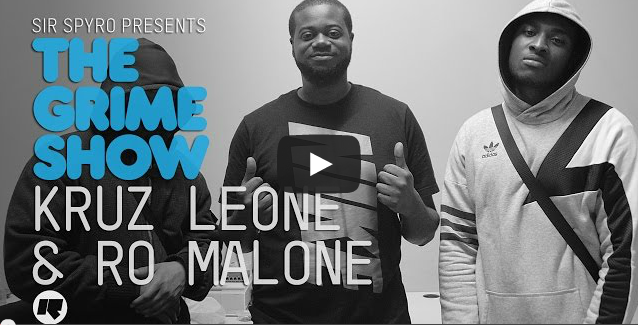 BRITHOPTV- [Video Set] Kruz Leone (@KruzLeone), & Ro Malone on Sir Spyro's (@SirSpyro) The #GrimeShow [@RinseFM] I #Grime