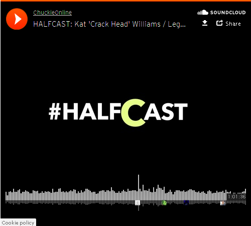 BRITHOPTV: [Podcast] Chuckie Online (@ChuckieOnline) & Poet (@PoetsCornerUK) - #HALFCAST - Guest: Kat 'Crack Head' Williams / Legends Don't Live Forever | #Grime #HipHop #Podcast