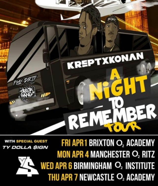 BRITHOPTV: [Event] Krept (@KreptAndKonan) 'A Night To Remember' Tour 2016 | #UKRap #UKHipHopi