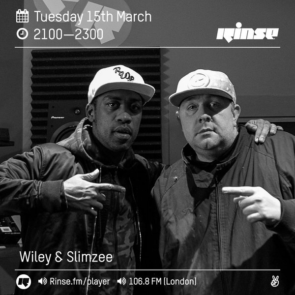 BRITHOPTV: [Radio Show] Wiley (@WileyUpdates) X DJ_Slimzee (@DJSlimzee) 15th March 2015 [@RinseFM]|#Grime