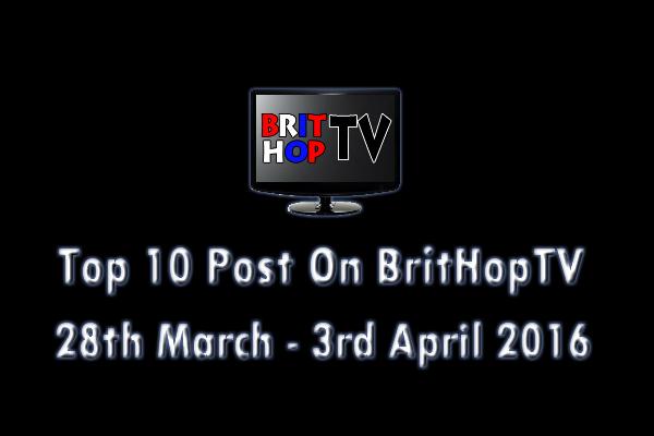 BHTV Top 10 header 28th March - 3rd April 2016