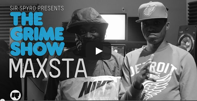 BRITHOPTV- [Video Set] Maxsta (@itsMaxsta) on Sir Spyro's (@SirSpyro) The #GrimeShow [@RinseFM] I #Grime