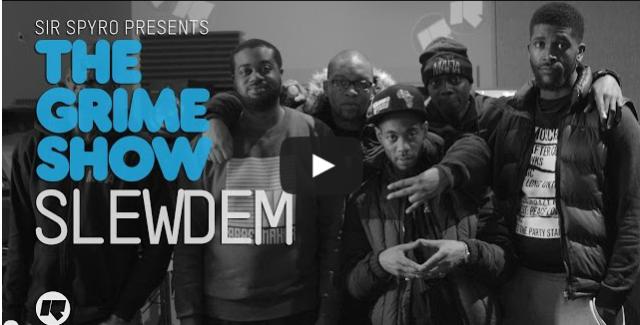 BRITHOPTV- [Video Set] Slewdem on Sir Spyro's (@SirSpyro) The #GrimeShow [@RinseFM] I #Grime