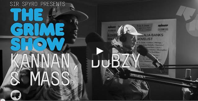 BRITHOPTV- [Video Set] Kannan (@KannanScumfam), Dubzy (@DubzySnazz) & Mass (@masstheartist) on Sir Spyro's (@SirSpyro) The #GrimeShow [@RinseFM]