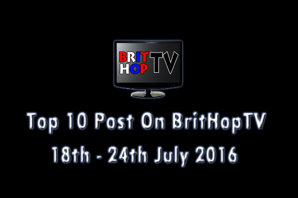BHTV Top 10 header 18th - 24th July 2016